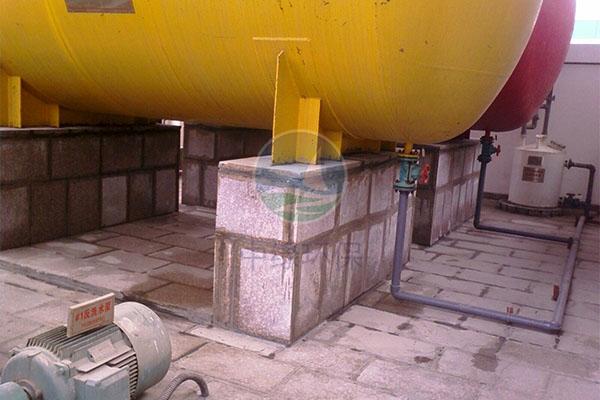 槽罐设备基础