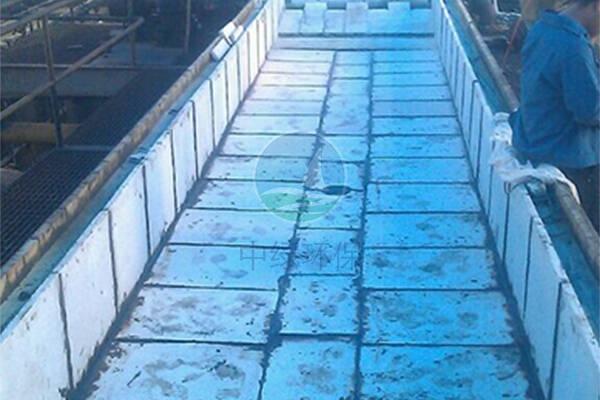 薄板带钢酸洗槽花岗岩防腐